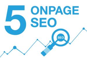 OnPage SEO Faktoren