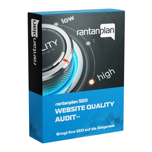 SEO Website Quality Audit - rantanplan