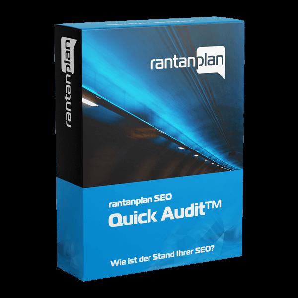 SEO Quick Audit - rantanplan