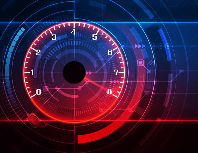 Technik SEO Tachometer